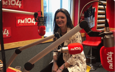 7 week podcast series on FM 104